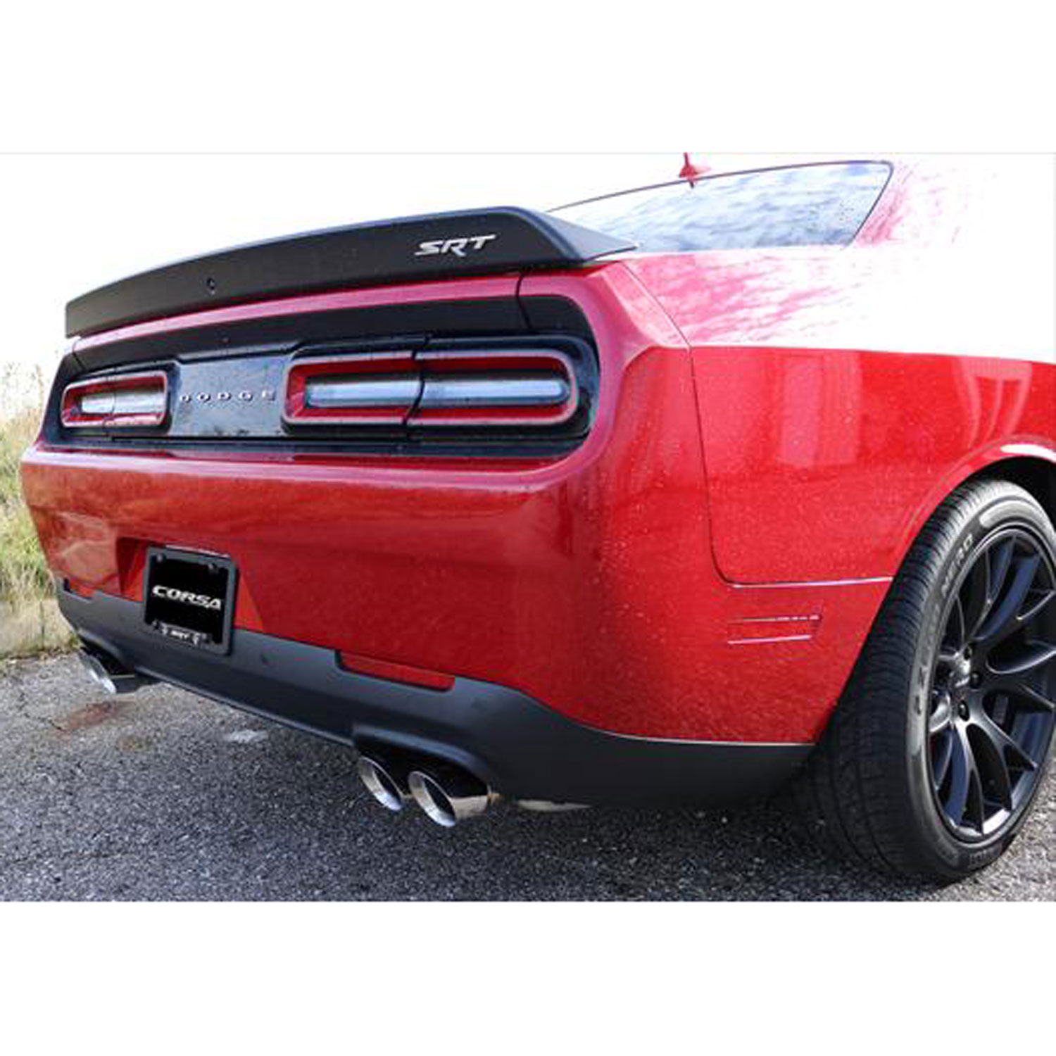 Whipple Supercharger Hellcat: Corsa Sport Cat-Back Exhaust System 2015-2018 Dodge