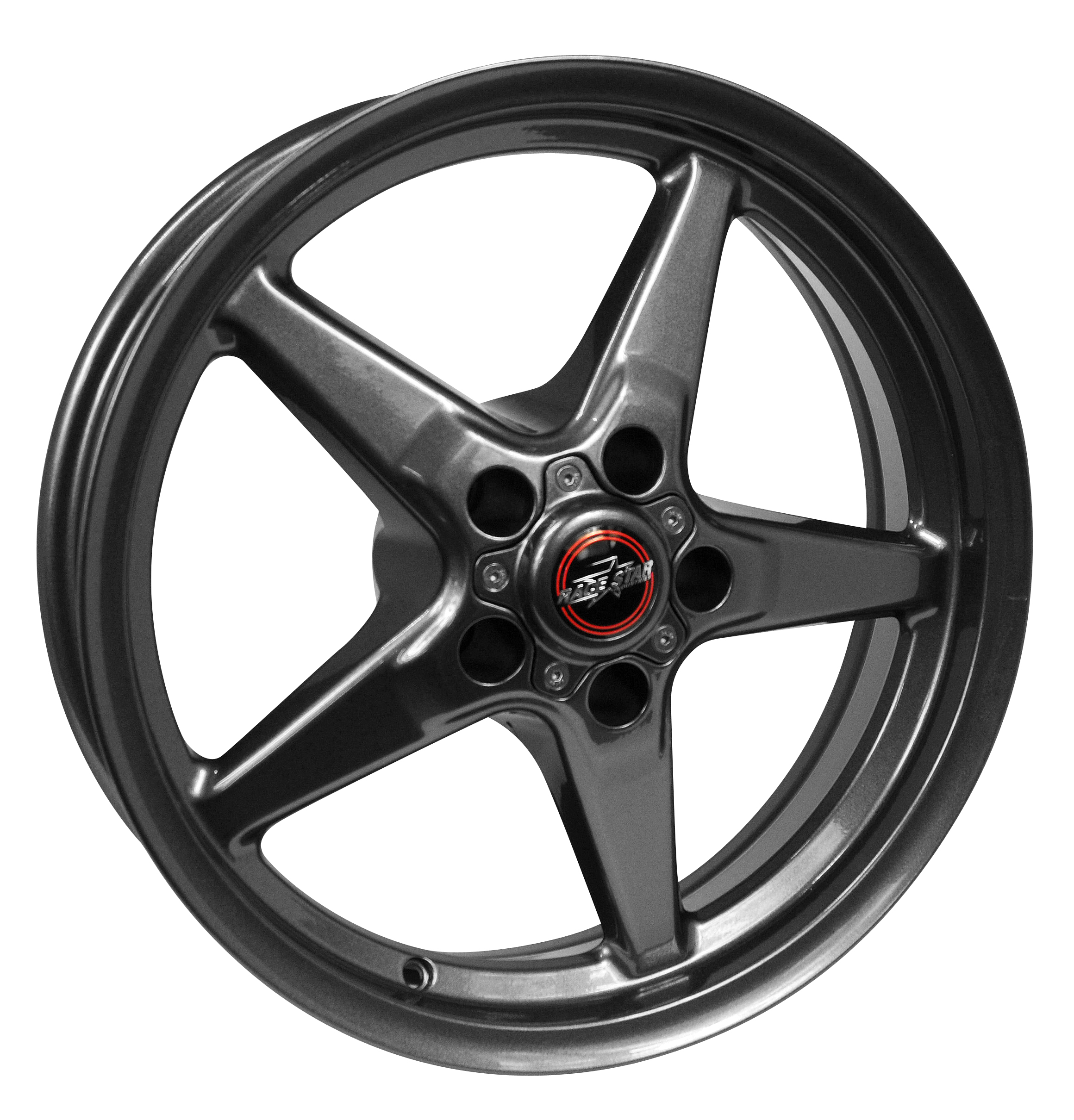 Whipple Supercharger Hellcat: Race Star 17x9.5 Bracket Racer Wheel Dodge Metallic Gray