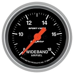 Auto Meter Sport Comp Analog Wideband Air/Fuel Ratio Gauge-3370