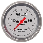 Auto Meter Ultra-Lite Analog Wideband Air/Fuel Ratio Gauge-4370