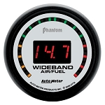 Autometer Phantom Wideband Air/Fuel Ratio Gauge - Street