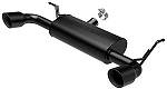 MF Series Axle-Back Exhaust System 2012-2015 Jeep Wrangler JK 3.6L V6