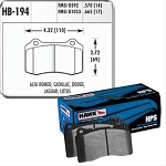 Hawk Performance HPS Ceramic Brake Pads (Rear)