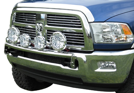 Westin off road light bar 2009 2012 dodge ram 1500 polished stainless quick view aloadofball Image collections