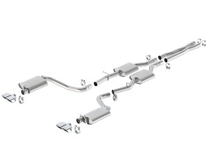 Borla Challenger R/T 2015-2017 Cat-Back Exhaust ATAK