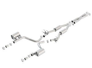 Borla Challenger SRT 392/ Scat Pack 2015-2017 Cat-Back Exhaust Touring