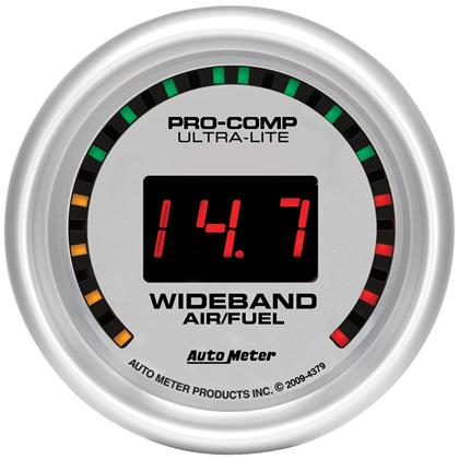 Autometer Ultra-Lite Wideband Air/Fuel Ratio Gauge - Street-4379