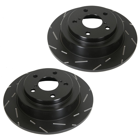 EBC 03-09 Dodge Ram 2500/3500 Front Slotted Rotors