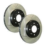 StopTech Slotted Brake Rotors (Front Left)
