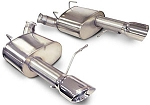 Corsa Xtreme Axle-Back Exhaust System Mustang GT/Boss 302 5.0L