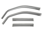WeatherTech 05-10 Jeep Grand Cherokee Front and Rear Side Window Deflectors