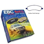 EBC Greenstuff 6000 2006-12 Dodge Ram 1500 Front Brake Pads