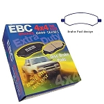 EBC Greenstuff 7000 06-2014 Dodge Ram 1500 Front Brake Pads