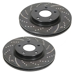 EBC 2002-2014 Dodge Ram 1500 Front Slotted and Drilled Rotors