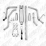 MBRP XP Series Dual Side Exit Catback Exhaust 06-08 Ram 1500 5.7L - T409 Stainless