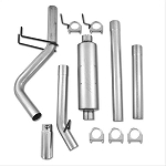 MBRP Single Exit Catback Exhaust 09-17 Ram 1500 5.7L - Aluminized Steel