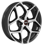 Race Star 18x5 Recluse Wheel Hellcat Metallic Gray