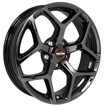 Race Star 17x7 Recluse Wheel Dodge Black Chrome