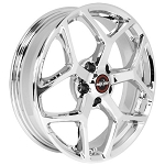 Race Star 18x5 Recluse Wheel Dodge Hellcat Black Chrome