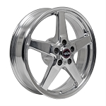 Race Star 18x5 Drag Star Wheel Dodge Hellcat Polished